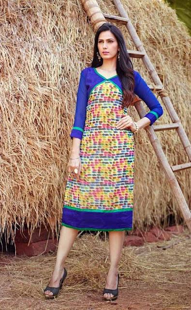 Gree kurtis at Moksha Fashions