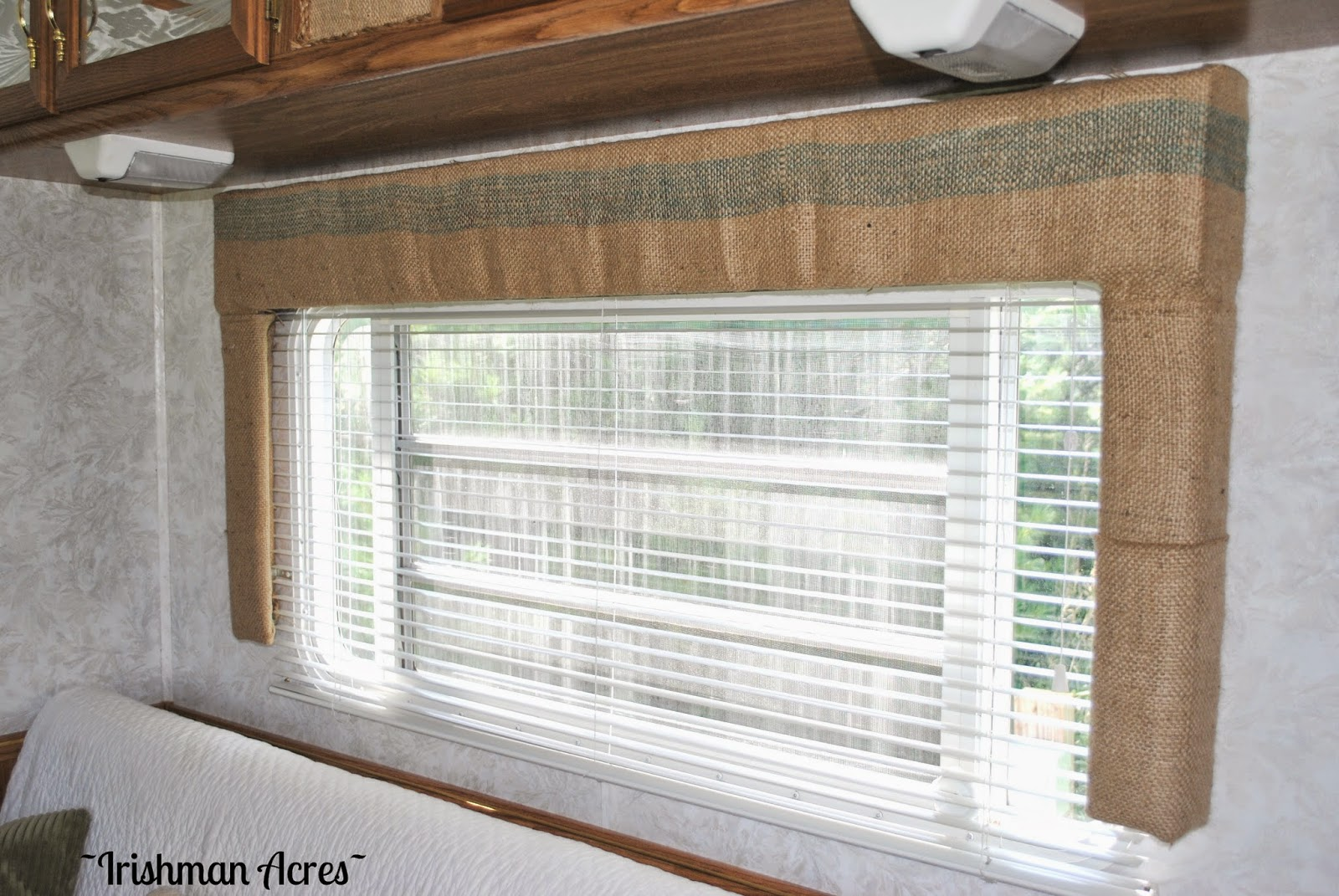 Camper window treatments - I Had Quite The Growing Collection Of These And After Getting Over The Initial Shock Of Cutting One Up I Love The Look It Adds To The Windows