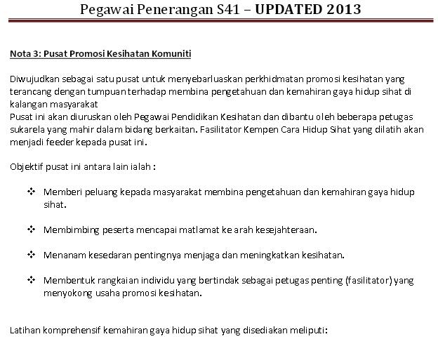 Contoh Soalan Temuduga Pegawai Penerangan S41