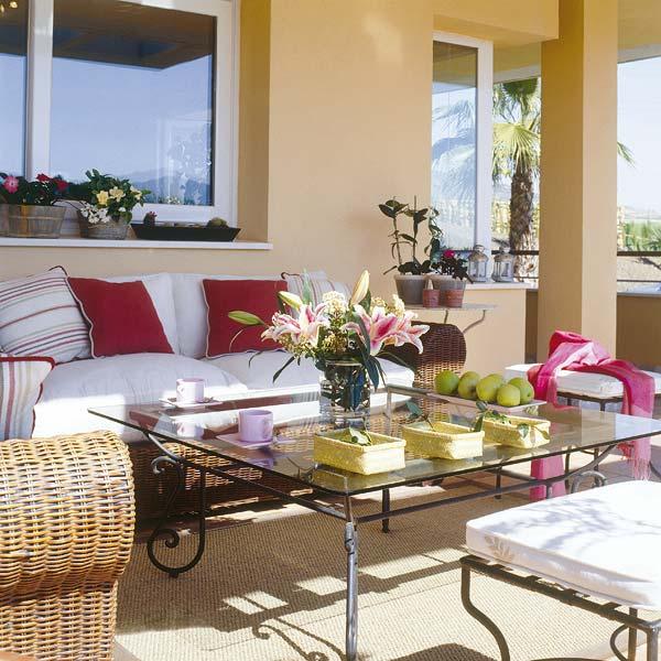 Fotos de terrazas decoradas ideas para decorar dise ar for Decoracion de exteriores para terrazas