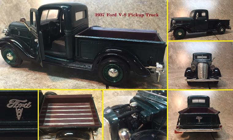 1937 Ford V-8 Pickup Truck ~