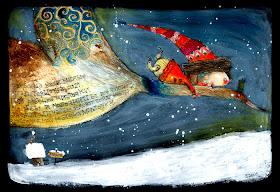 Nadal amb ulls dElisabetta Decontardi | Иллюстрации арт