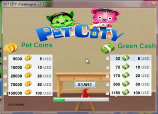 pet city hack