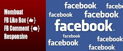 Pasang Facebook Like Box dan Comment untuk Template Responsive