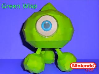 Sonic Colors - Green Wisp Papercraft | Papercraft Paradise ...