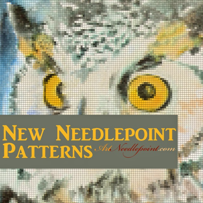 needlepoint kits | needlepoint patterns | needlepoint canvases | free gift with purchase :  http://schulmanart.blogspot.com/2015/03/needlepoint-art-free-gift-with-purchase.html