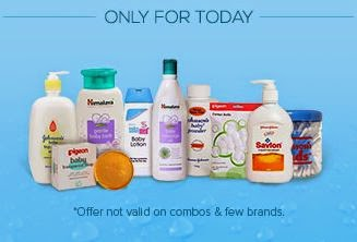 Buy All Baby Care products at Flat 15% cashback : Buy To Earn