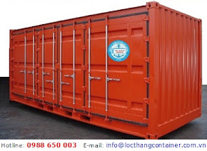 Container Open Side 20 Feet