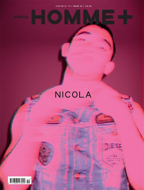 Nicola Formichetti by Daniel Sannwald for Arena Homme Plus No.40