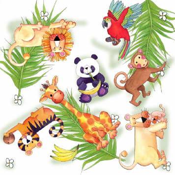 Fondos Animales Selva Para Imprimir Imagenes Y Dibujos Para Imprimir