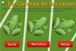 Carrera de ranas