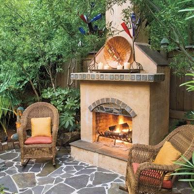 contoh desain teras halaman rumah ala eropa desain rumah