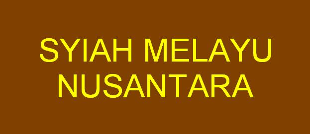 Syiah Melayu Nusantara