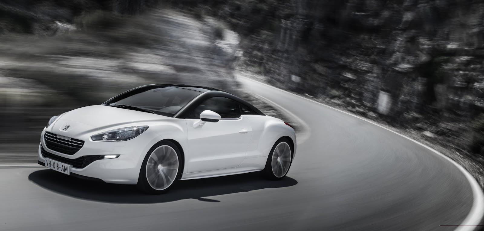 Speedmonkey: Peugeot RCZ Coupé - pricing and specs