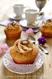 Cupcake con crema al mou