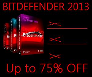 Bitdefender 2013 Discount