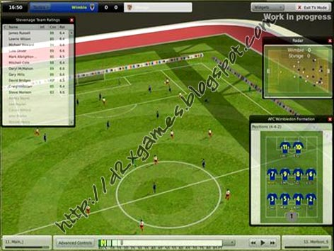 Free Download Games - Football Manager 2008
