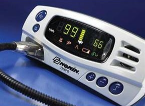 Nonin 7500F0 Fiber Optic Tabletop Pulse Oximeter for MRI