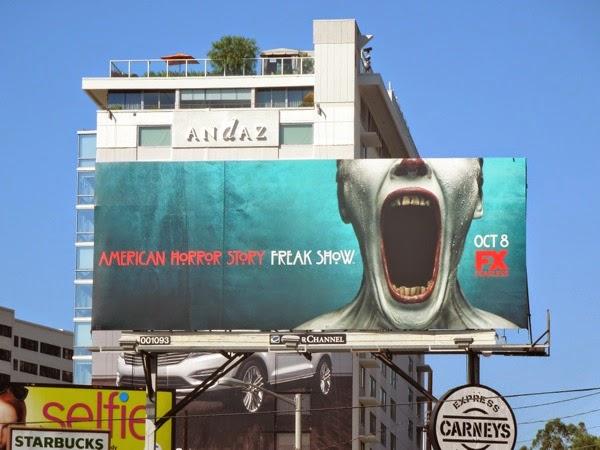 American Horror Story FreakShow billboard