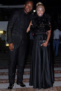 KHANYI MBAU AND BOYFRIEND TEBOGO
