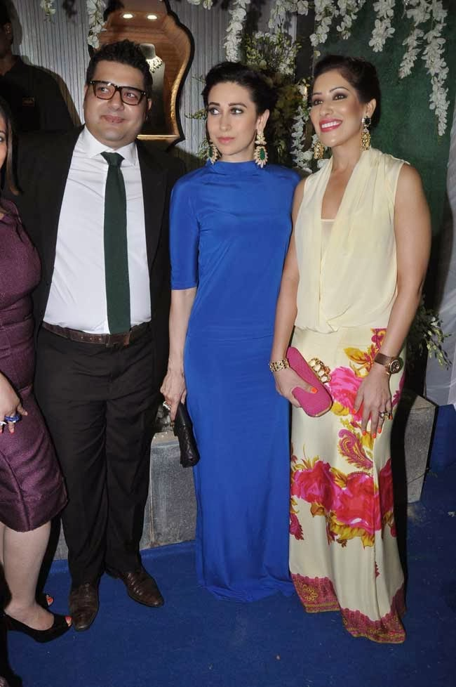 Karisma Kapoor at GhanSingh Jewellery Store Launch