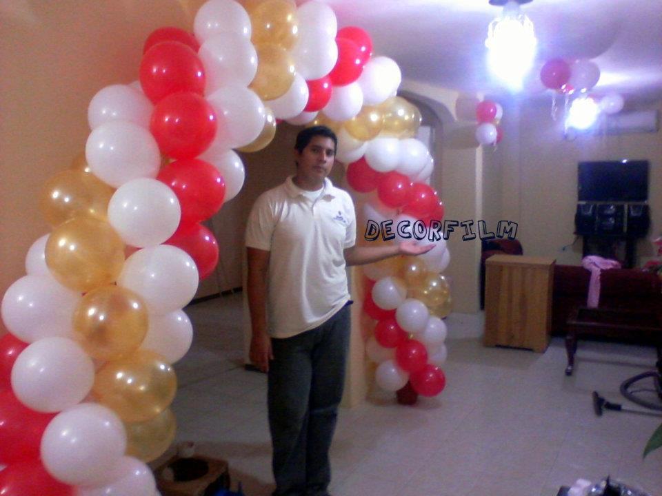 Decoracion y cursos con globos y foamix curso de - Curso decoracion con globos ...