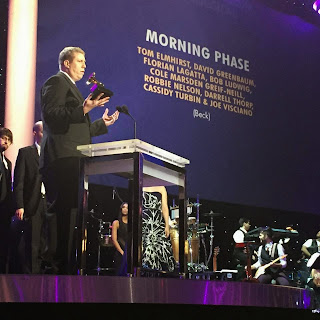 Darrell Thorp speaking at Grammy's