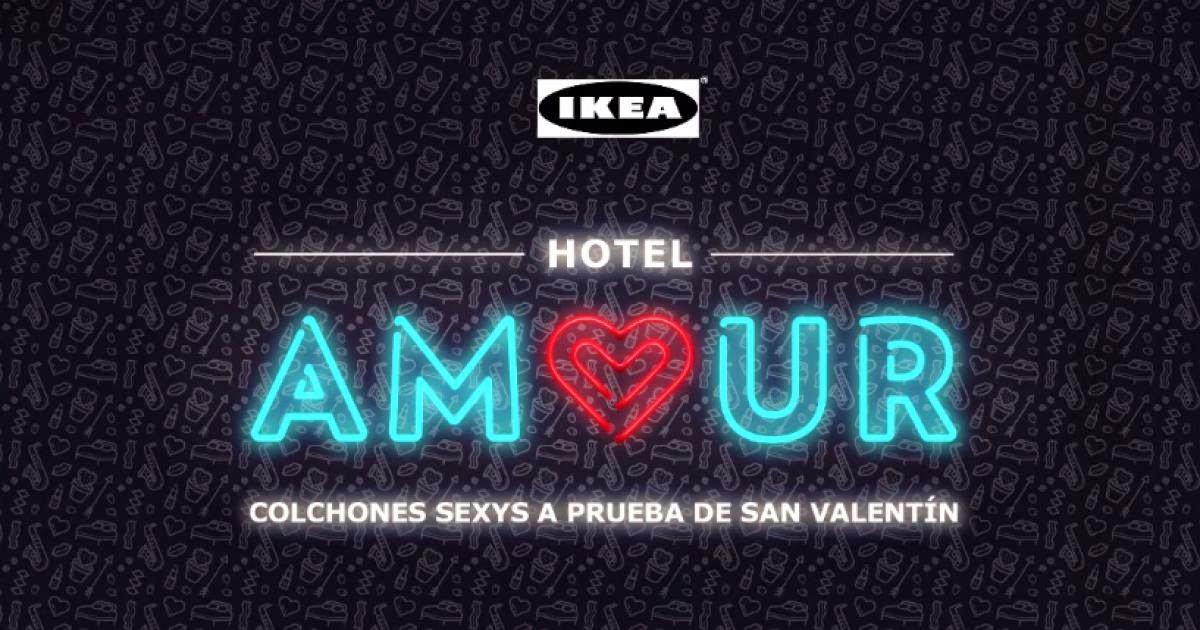 IKEA, Hotel Amour, campaña San Valentín 2015