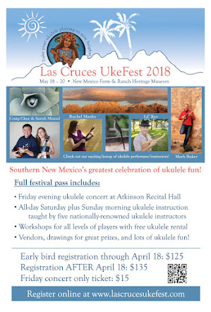 Register for Las Cruces UkeFest 2018!