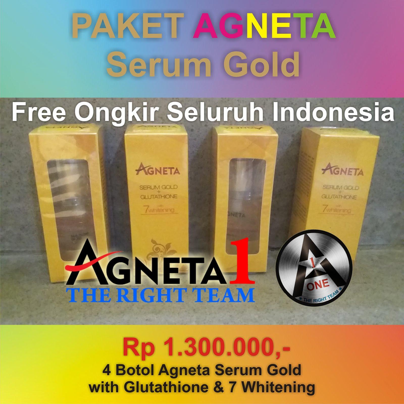 Paket Agneta Serum Gold