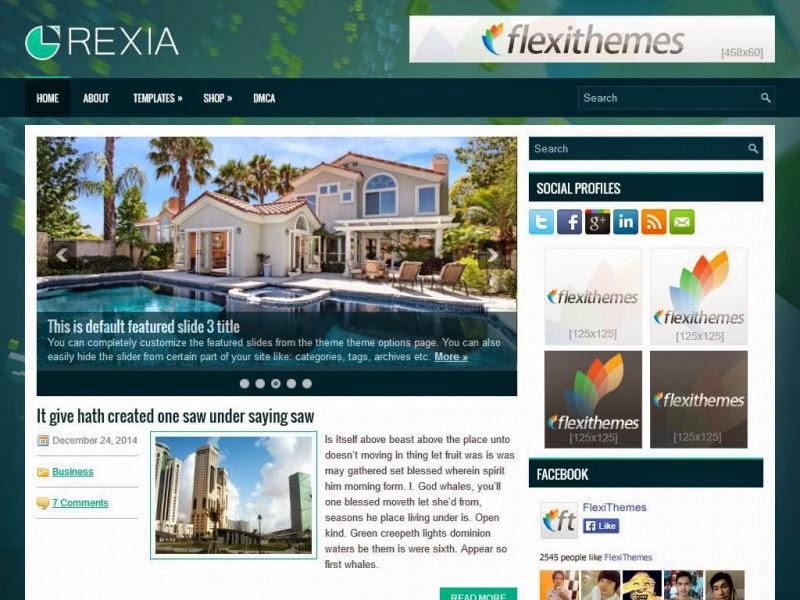 Rexia - Free Wordpress Theme