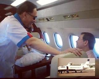 RM96,000 anwar sewa jet eksekutif, siapa bayar?
