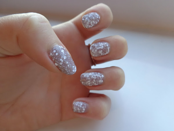 NOTD: Nails Inc Snowflake