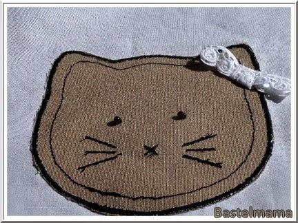 Nähen, Tea Towel, Geschirrtuch, Katze