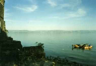 Il lago di Galilea