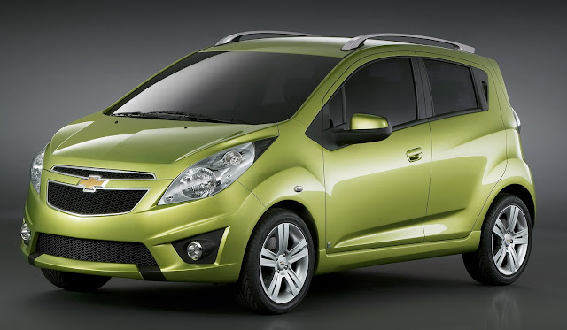 Chevrolet Spark - Những xe ô tô bán chạy nhất Việt Nam 2012