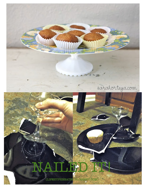 Life hyphenated how to make a cupcake stand worthy of for Cupcake stand plans