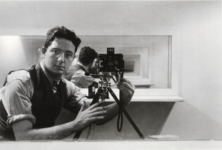 'Autorretrato'. Arnold Newman