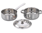 Amazon: Buy Pigeon Deluxe Cookware Set, 3-Pieces at Rs. 459