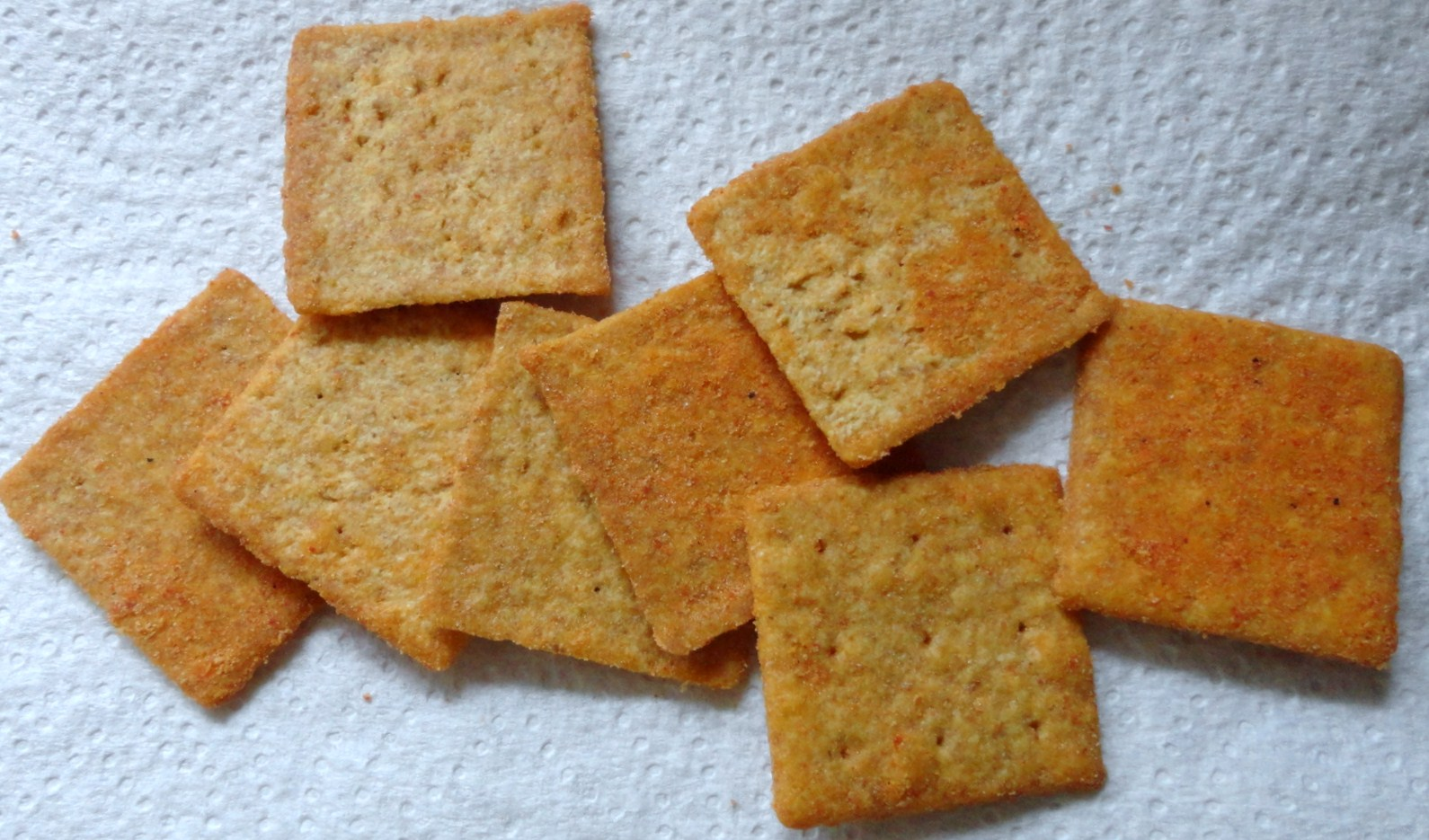 Wheat Thins: Spicy Buffalo Flavour