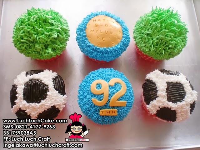 Cupcake Bola Buttercream