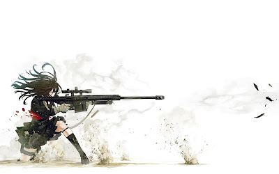 Love Wallpaper : Sniper Anime