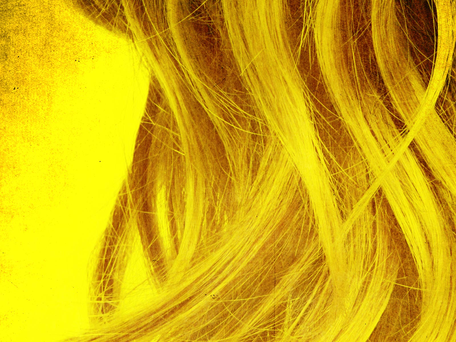 Yellow Hair Extensions