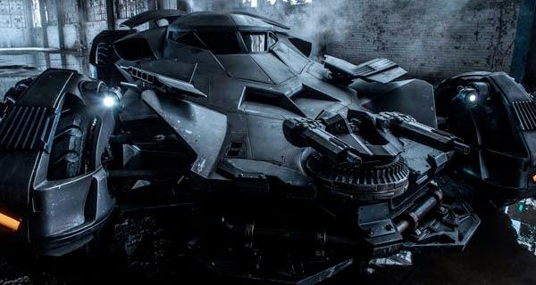 """Batmóvil en """"Batman V Superman: Dawn of Justice"""""""