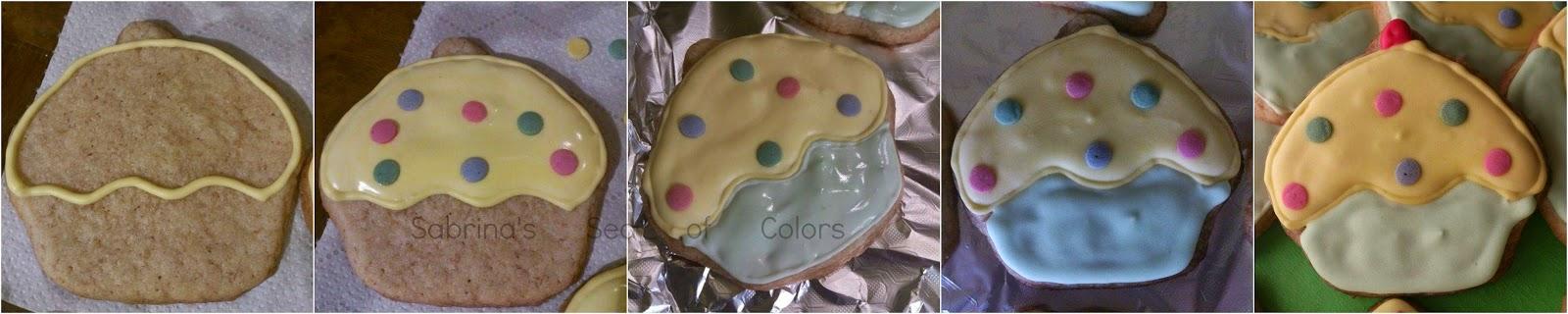 Decoración de galletas con Glasa Real