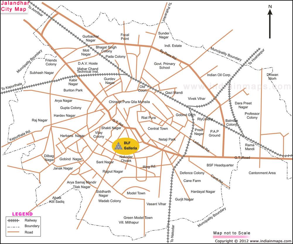 Jalandhar India  city photos : about jalandhar city jalandhar city map india in maps