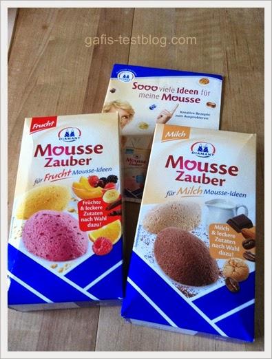 """Diamant Moussezauber """"Frucht"""" und """"Milch"""""""