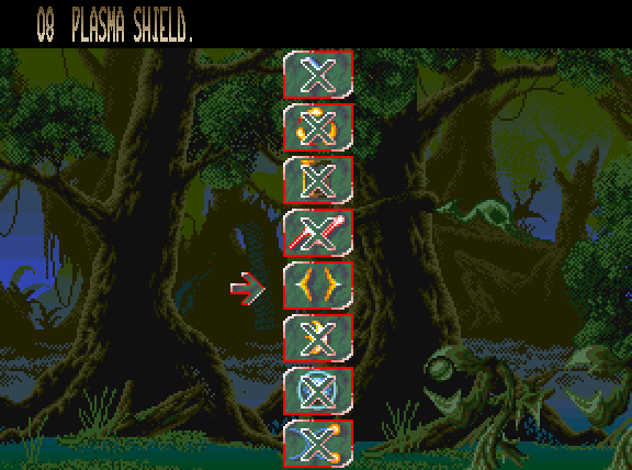 Agony Amiga magic spell menu