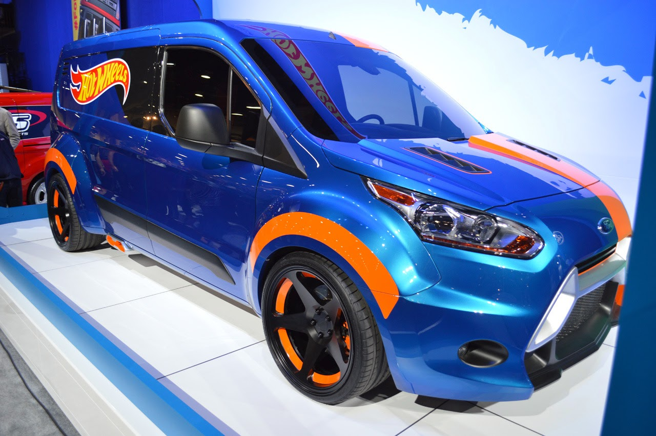 Ford Transit Connect Hot Wheels SEMA 2013 Photos - Cars Magazine
