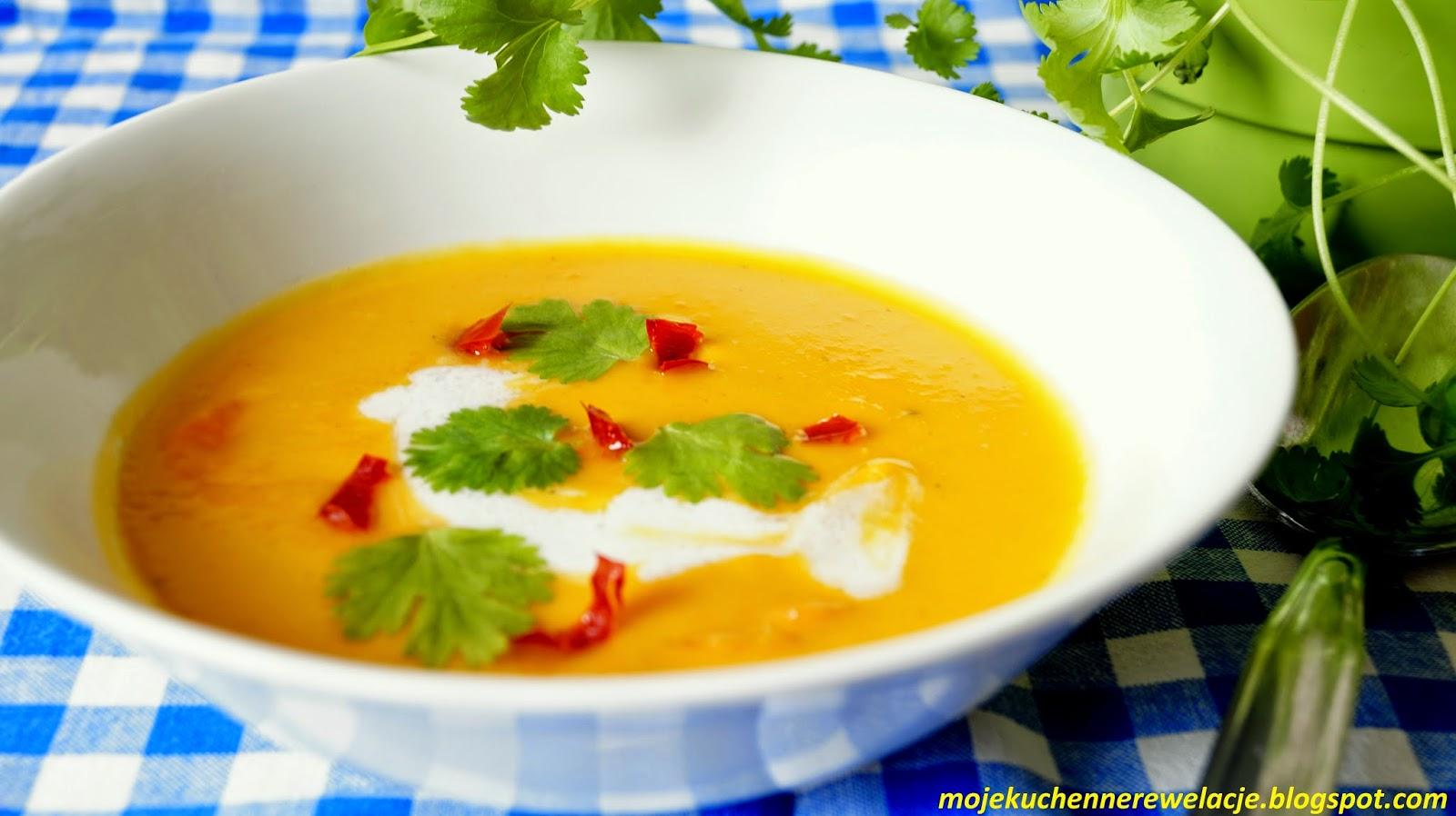 zupa z mleczkiem kokosowym